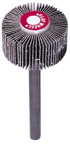 A&H Abrasives 100844 10-pack Misc Flapwheel 1-12x1x14 Aluminum Oxide 120 Grit Flap Wheel