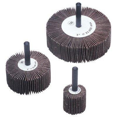 Flap Wheels - 2x1x14 alum oxide 120 grit flap wheel Set of 10