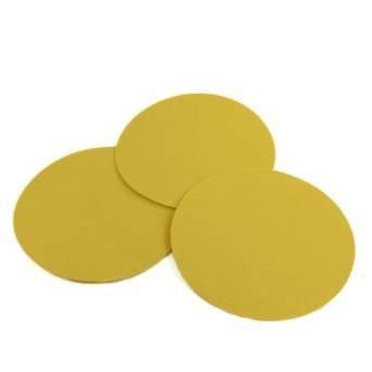 5 Inch 60 Grit Gold Hook and Loop Sanding Discs 50 Pack