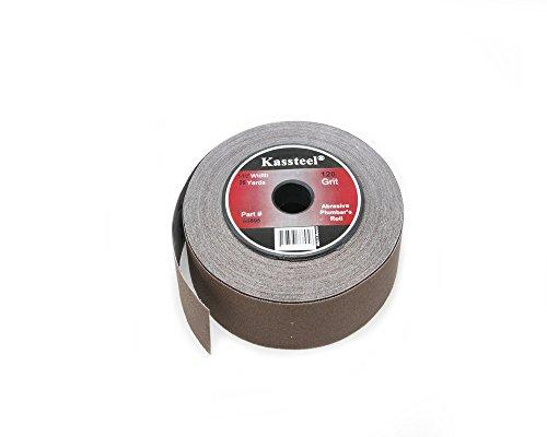 Kassteel  66895 Aluminum Oxide Abrasive Plumbers Roll 120 Grit 1-12 x 25 yd