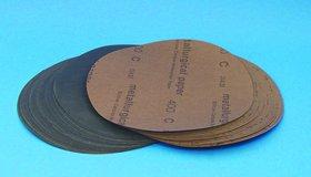 Silicone Carbide disc 8 Plain Back 320 Grit 25PK