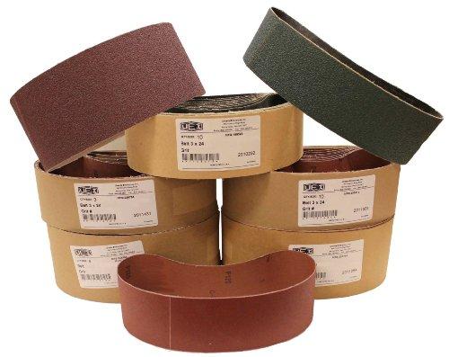 Uneeda Enterprizes Inc M-107325 M-107325 4-Inch x 24-Inch No 120 Grit Aluminum Oxide Cloth Sanding Belt