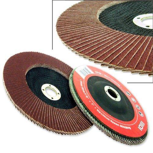 4-12 Aluminum Oxide Flap Disc 80 Grit by Hiltex