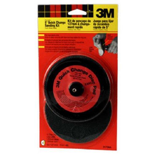 3M Hookit 9173NA 5-Inch Reusable Disc Sander Kit 1-pack