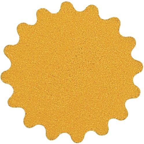 A&H Abrasives 135329 Sanding Discs Aluminum Oxide Super Gold 2 Wavy H&L Aluminum Oxide 400c Sander Disc 50 Each