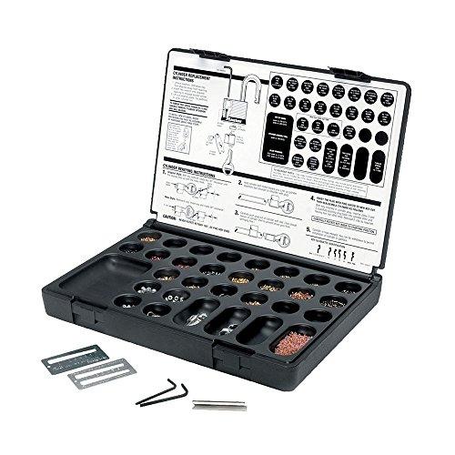 Master Padlock Lock Pinning Tools Parts Service Rekeying Pin Kit