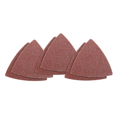 60 Grit Multi-Tool Triangle Sandpaper 6 Pc For Wood 90 Day Warranty 90 Day Warranty