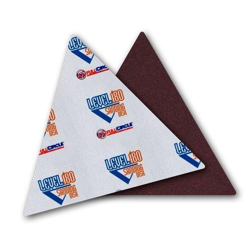 Full Circle International Inc TG150 Level180 Sandpaper  Triangles 150 Grit 5-Pack