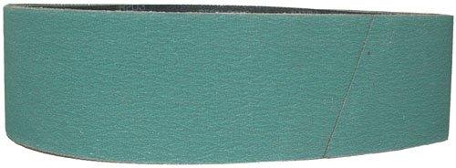 Magnate Z4X36S12 4 x 36 Sanding Belt - Zirconia Alumina - 120 Grit Y Weight 1 BeltsPkg