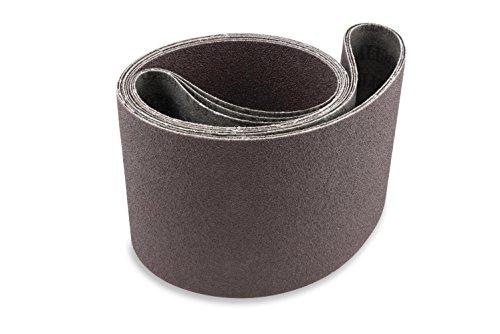 Red Label Abrasives 4 X 36 Inch 180 Grit Aluminum Oxide Multipurpose Sanding Belts 6 Pack
