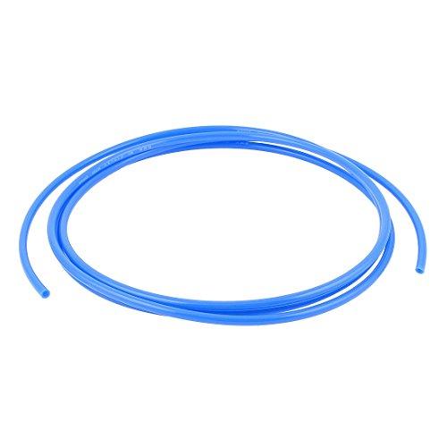 6mm x 4mm Pneumatic Air Compressor Tubing PU Hose Tube Pipe 25m Blue