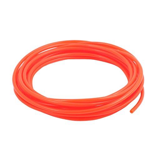 uxcell 25mm x 4mm Pneumatic Air Compressor Tubing PU Hose Tube Pipe 48 meter Orange