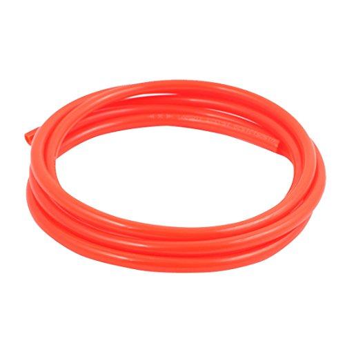 uxcell 5mm x 8mm Pneumatic Air Compressor Tubing PU Hose Tube Pipe 2 meter Orange