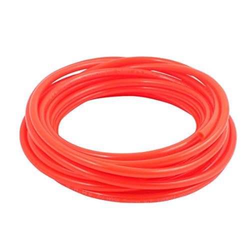 uxcell 5mm x 8mm Pneumatic Air Compressor Tubing PU Hose Tube Pipe 8 meter Orange