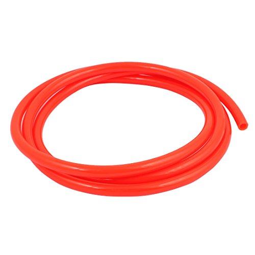 uxcell 8mm x 12mm Pneumatic Air Compressor Tubing PU Hose Tube Pipe 2 meter Orange