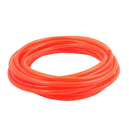 uxcell 8mm x 12mm Pneumatic Air Compressor Tubing PU Hose Tube Pipe 96 meter Orange