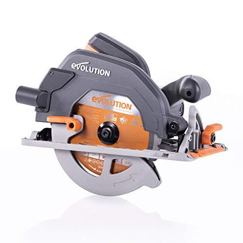 Evolution Power Tools R185CCS 7-14 TCT Multi-Material Cutting Circular Saw 7-14 Orange