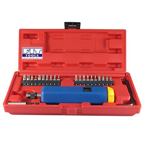 FIT TOOLS Adjustable Torque Screwdriver with 2 display 2 ~ 10 Nm