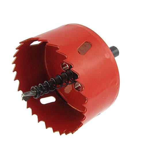 Liyafy 70mm 275 Dia Iron Aluminum BI -Metal Hole Saw Twist Drill Bit Corn Hole Drilling Cutter for Making Cornhole Boards