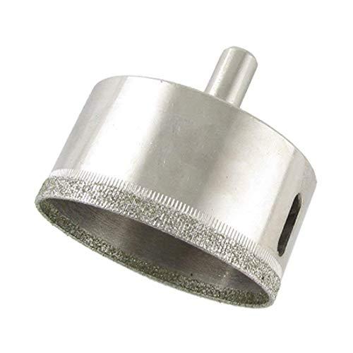 eoocvt 60mm Diamond Hole Saw Tile Ceramic Glass Porcelain Marble Drill Bit Tools