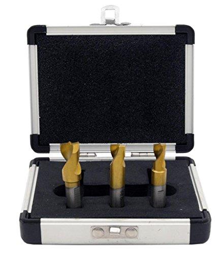 Cal Hawk Tools BDBSW3P HSCO Titanium Spot Weld Drill Bit 3 Piece