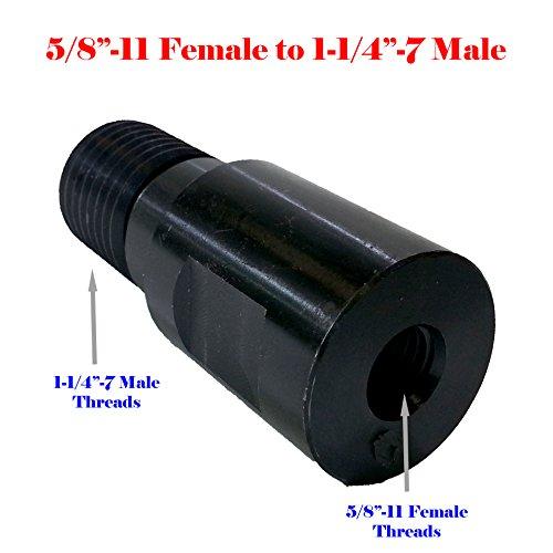 MTP Core Drill Bit Adapter 1-14 - 7 Thread Male to 58-11 Female Diamond Hammer