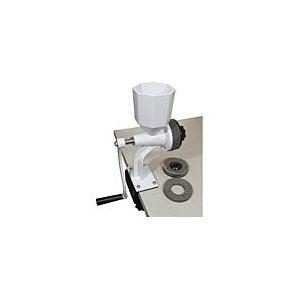 Wonder Junior Deluxe Hand Grain Mill with Drill Bit Adapter by Wonder Junior