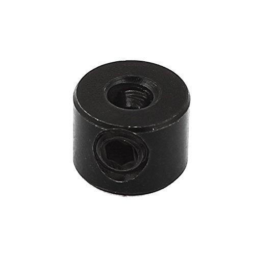 4mm Internal Dia Woodworking Drill Bit Depth Stop Collar Black