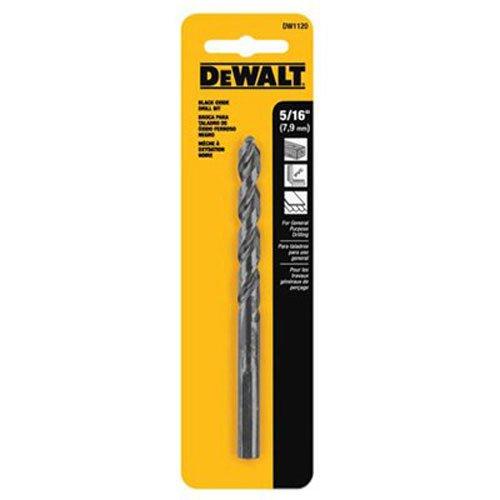 DEWALT DW1120 516-Inch Black Oxide Split Point Twist Drill Bit