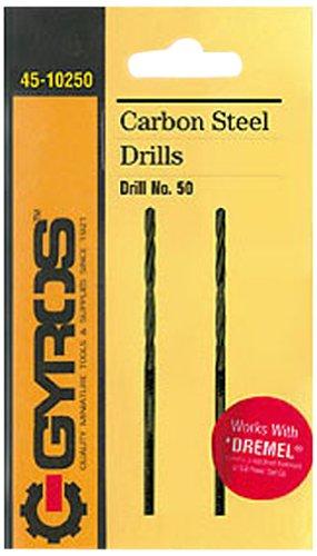 Gyros 45-10277 Carbon Steel Wire Gauge Drill Bit No77