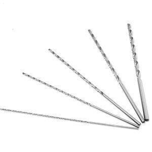 10 Piece Extra Long 12 Drill Bit Set 18 316 14 516 38