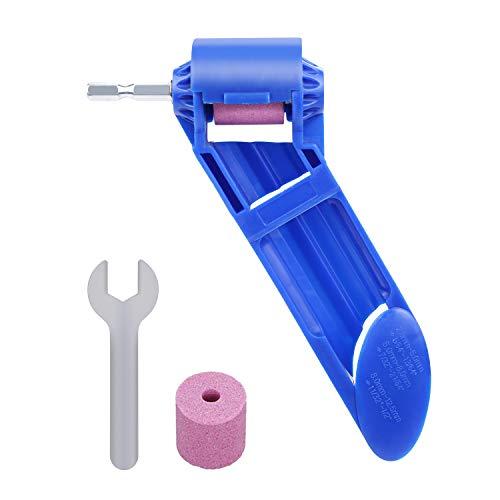 PiscatorZone Drill Bit Sharpener Portable Diamond Drill Bit Sharpening Tool Corundum Grinding Wheel