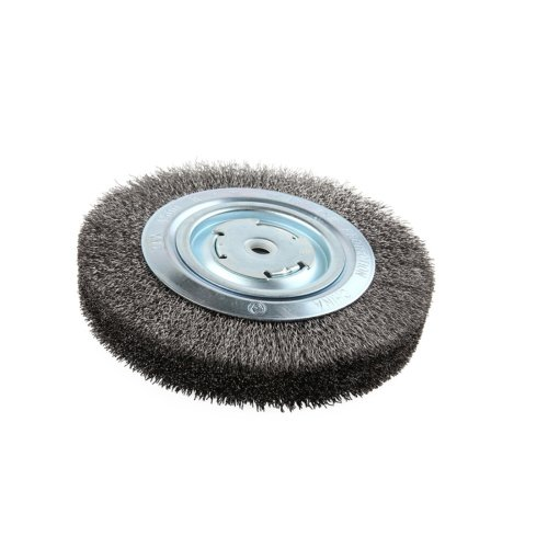 Lincoln Electric KH322 Crimped Wire Wheel Brush 4000 rpm 8 Diameter x 1-14 Face Width 58 x 12 Arbor Pack of 1