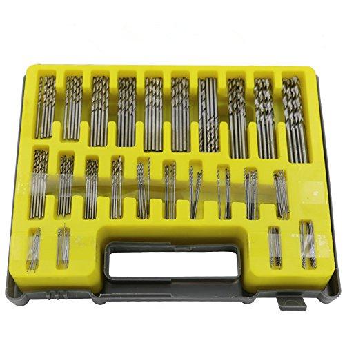 Here4Tool HT23001 04-32mm Mini Twist Drill Bit Set150-Piece