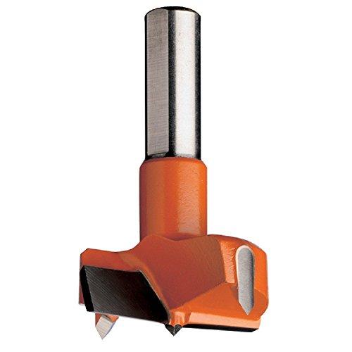 CMT 31720011 Hinge Boring Bit 20mm 2532-Inch Diameter 10x26mm Shank Right-Hand Rotation