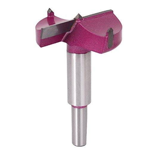 uxcell 53mm x 875mm TCT Auger Carbide Kit Wood Forstner Drill Hinge Cutter Boring Bit