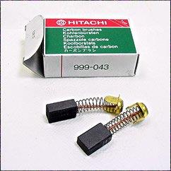 Hitachi 999-043 Power Tool Motor Brush Set Genuine Original Equipment Manufacturer OEM Part