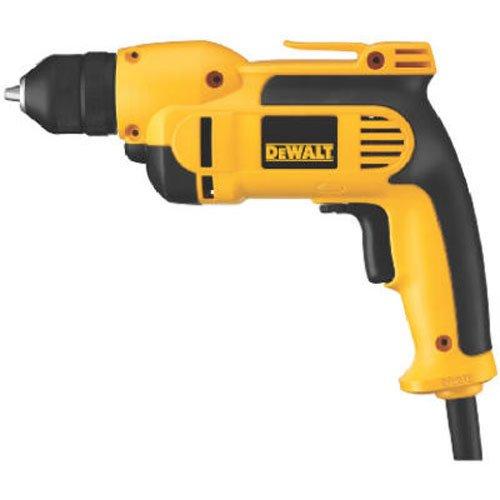 DEWALT DWD112 80 Amp 38-Inch VSR Pistol-Grip Drill with Keyless All-Metal Chuck