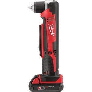 Milwaukee 2615-21 M18 Cordless Right Angle Drill Kit 1xC Battery