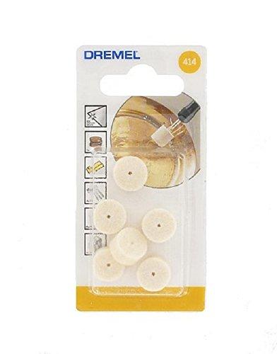 Dremel Felt Polishing Wheel 6 Count