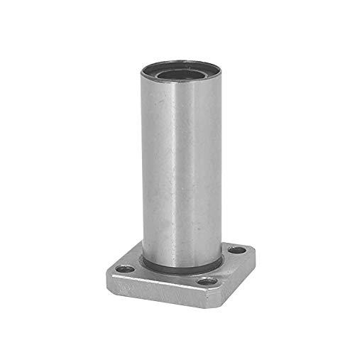 Linear Bearing 1PC LMK8LUU dr8mm Long Square Flange Type Linear Bearing Bushings for 3D Printer Linear Rod Stick Electric Tool CNC Parts