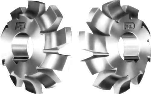 F&D Tool Company 12420-C317L Corner Rounding Cutters 12  Radius 325 Diameter 34  Width 1 Hole Size