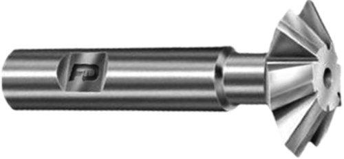 F&D Tool Company 10347 Corner Rounding Endmills Carbide Tipped for Steel 516 Circle Radius 1-18 Tool Diameter 78 Shank Diameter