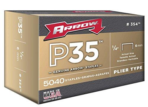 Arrow Fastener 354 Genuine P35 14-Inch Staples 5040-Pack