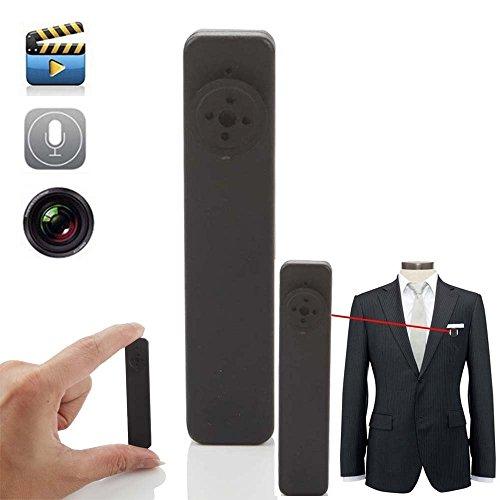 MengshenHD Mini Portable Button Fastener Spy Camera 8GB Hidden Pinhole Camera Mini DV DVR Voice Video Recorder Fastener MS-HC13
