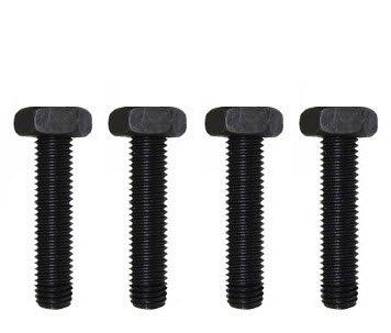 516-18 x 34 Hex Bolt Black Oxide Steel Meets ASME B1821 Standards by Fastener Pro 25-Pack