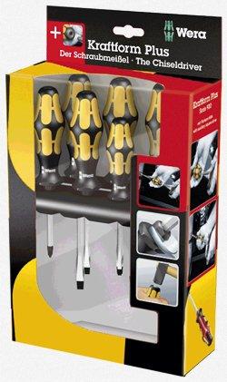 Wera - Chiseldriver Screwdriver Set 6Pc PhSl 932 S6 - 5018283002