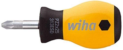 SoftFinish ESD Stubby313SF ESD PZ 01x25 Pozidriv Screwdriver by Wiha