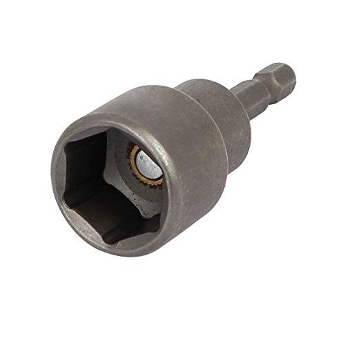uxcell 18mm 710-inch Socket 14-inch Hex Shank 65mm Length Nut Driver Adapter Drill Bit