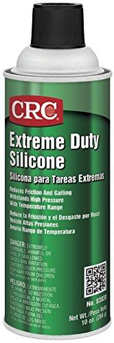 CRC Extreme Duty Silicone Lubricant 10 oz Aerosol Can ClearWhite